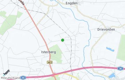 Stadtplan Isterberg