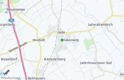 Stadtplan Jade