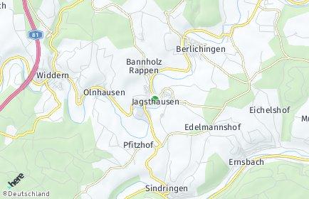 Stadtplan Jagsthausen