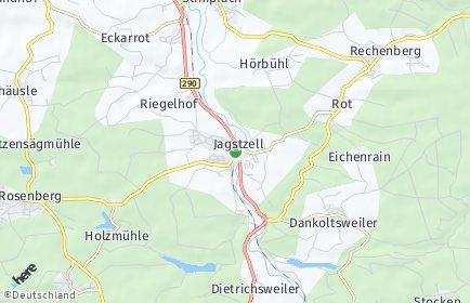 Stadtplan Jagstzell