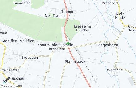 Stadtplan Jameln