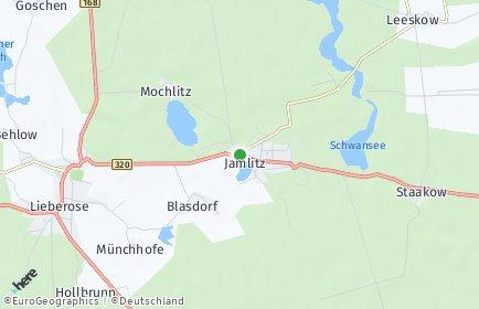 Stadtplan Jamlitz
