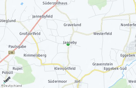 Stadtplan Janneby