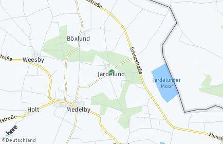 Stadtplan Jardelund