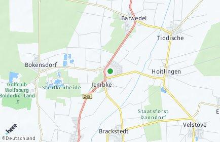 Stadtplan Jembke