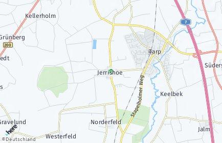 Stadtplan Jerrishoe