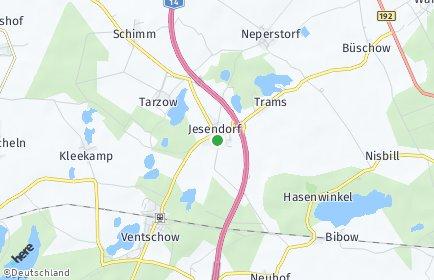 Stadtplan Jesendorf