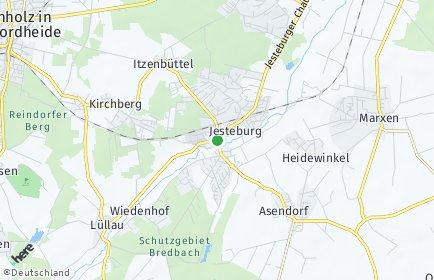 Stadtplan Jesteburg