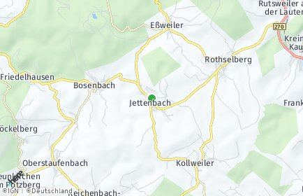 Stadtplan Jettenbach (Pfalz)