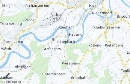 Stadtplan Jettenbach (Oberbayern)