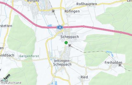 Stadtplan Jettingen-Scheppach