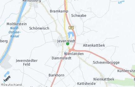 Stadtplan Jevenstedt
