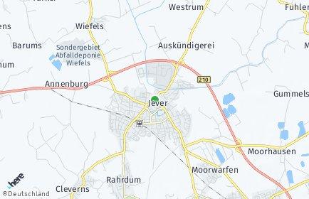 Stadtplan Jever