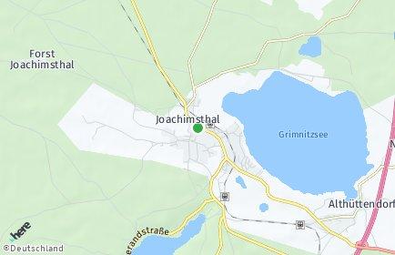 Stadtplan Joachimsthal