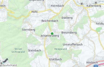 Stadtplan Johannesberg