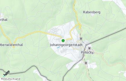Stadtplan Johanngeorgenstadt