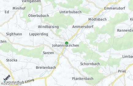 Stadtplan Johanniskirchen