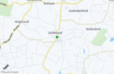 Stadtplan Joldelund