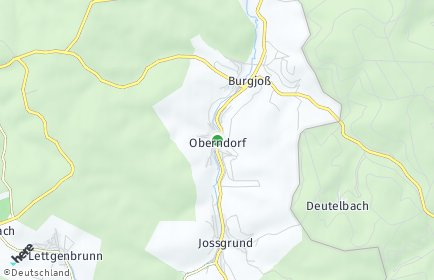 Stadtplan Jossgrund