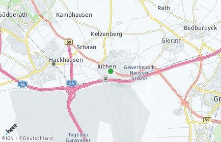 Stadtplan Jüchen