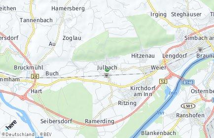 Stadtplan Julbach