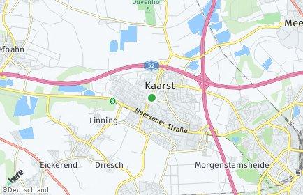 Stadtplan Kaarst