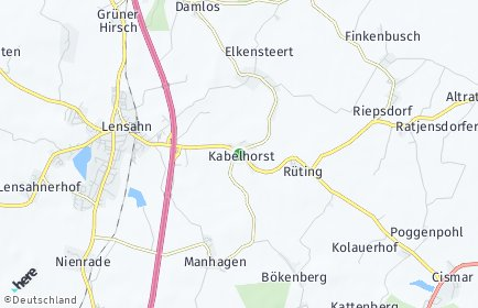 Stadtplan Kabelhorst