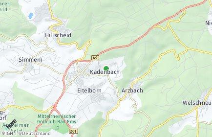 Stadtplan Kadenbach