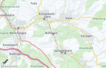 Stadtplan Kämpfelbach