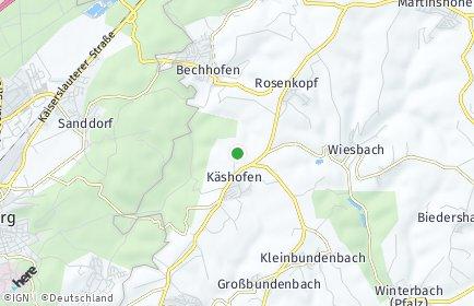 Stadtplan Käshofen