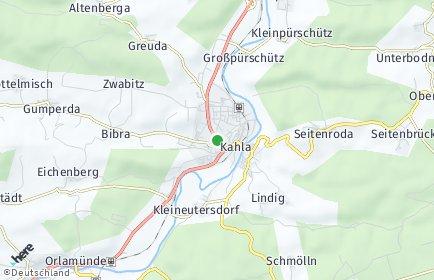 Stadtplan Kahla