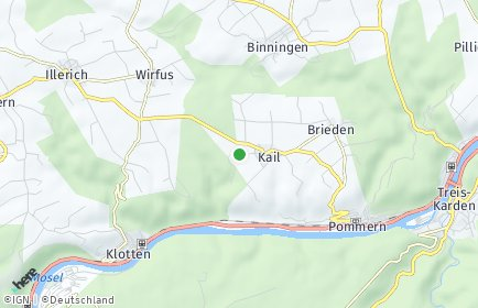 Stadtplan Kail