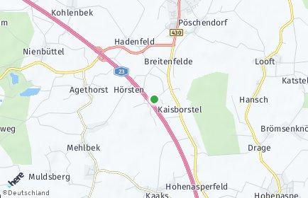 Stadtplan Kaisborstel