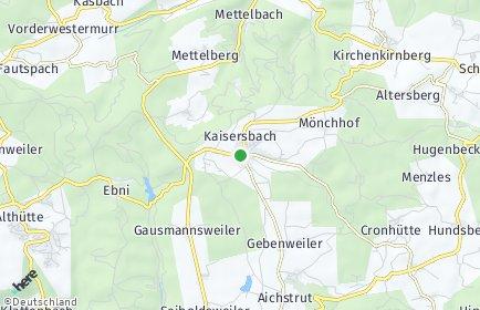 Stadtplan Kaisersbach