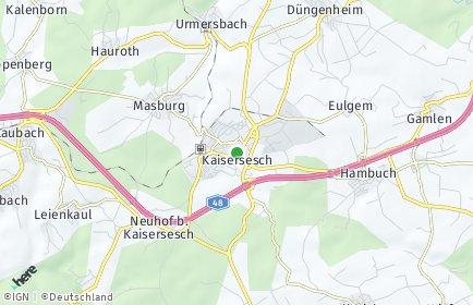 Stadtplan Kaisersesch