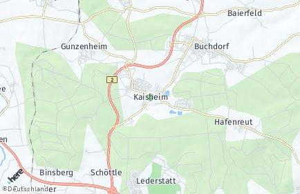 Stadtplan Kaisheim