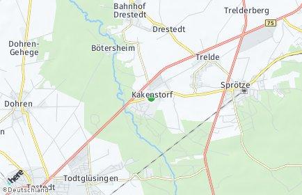 Stadtplan Kakenstorf