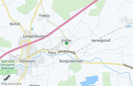 Stadtplan Kalbe (Niedersachsen)