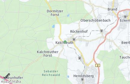 Stadtplan Kalchreuth