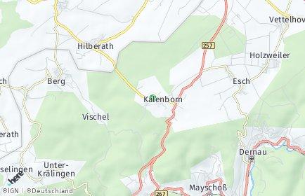 Stadtplan Kalenborn bei Altenahr