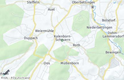 Stadtplan Kalenborn-Scheuern