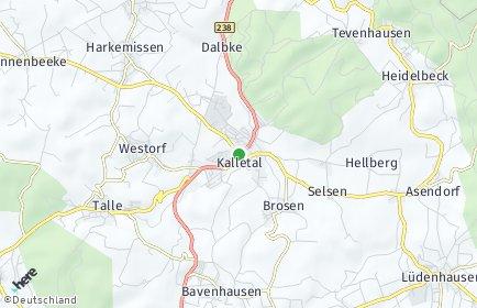 Stadtplan Kalletal