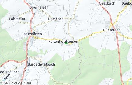 Stadtplan Kaltenholzhausen