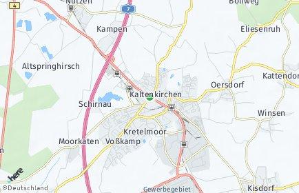 Stadtplan Kaltenkirchen