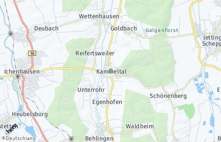Stadtplan Kammeltal