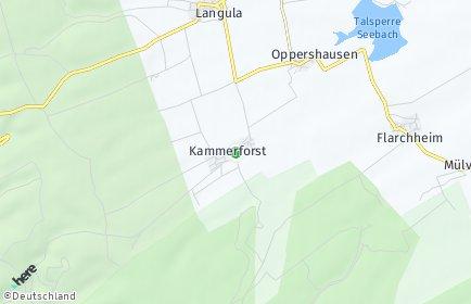 Stadtplan Kammerforst (Thüringen)