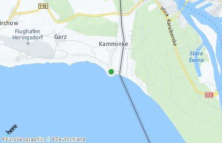 Stadtplan Kamminke