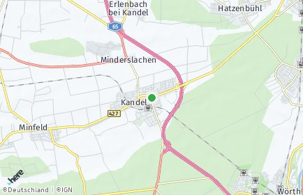 Stadtplan Kandel