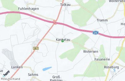 Stadtplan Kankelau