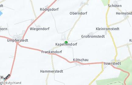 Stadtplan Kapellendorf